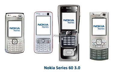 Nokia Series 60 3.0 Prominent phones -  rdhacker.blogspot.com