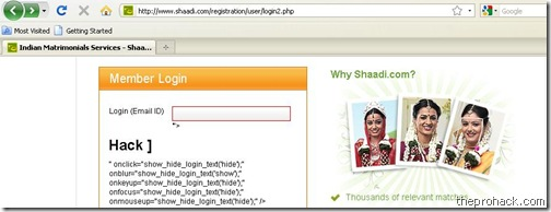 shaadi.com had seen better days - theprohack.com