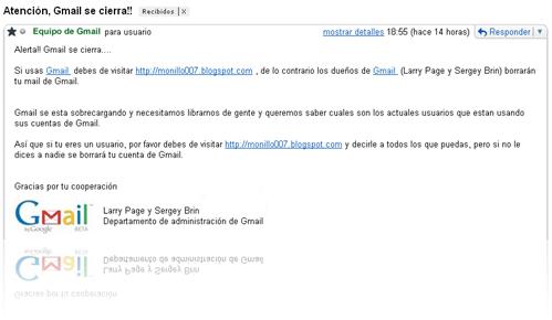 gmailcierra