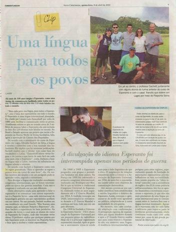 esperanto - correio lageano