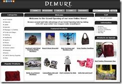Demure Website