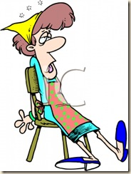 0511-1005-0201-0028_Cartoon_of_a_Woman_Tired_from_House_Cleaning_clipart_image
