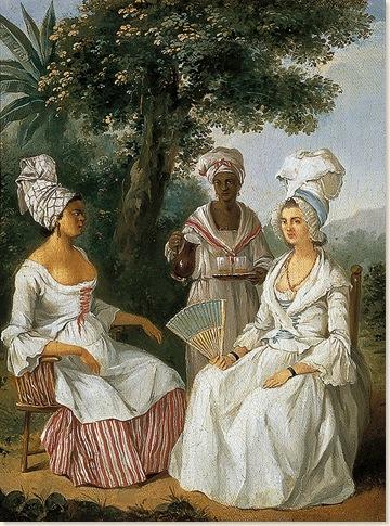 BRUNIAS Agostino_Mujer criolla y criadas circa 1770-180_MuseoThyssen