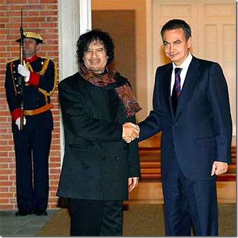 GADDAFI_Zapatero_Muamar_Gadafi