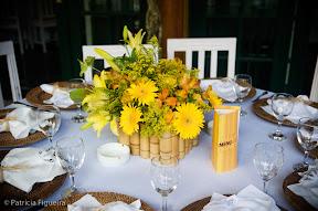 patfig elisabete roque e marcos vinicius Baú de ideias: Decoração de casamento amarelo