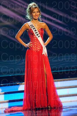 alemanha1 Miss Universo 2009: Inspirações para vestidos de madrinha e noiva