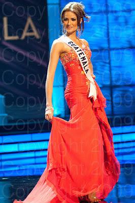 guatemala1 Miss Universo 2009: Inspirações para vestidos de madrinha e noiva