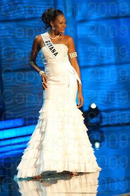 guiana Miss Universo 2009: Inspirações para vestidos de madrinha e noiva
