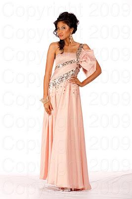 indonesia2 Miss Universo 2009: Inspirações para vestidos de madrinha e noiva