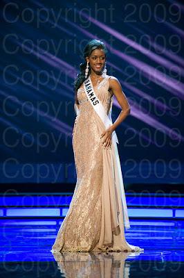 bahamas1 Miss Universo 2009: Inspirações para vestidos de madrinha e noiva