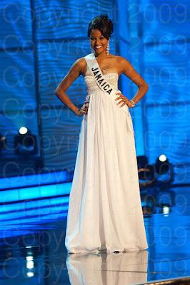 jamaica1 Miss Universo 2009: Inspirações para vestidos de madrinha e noiva