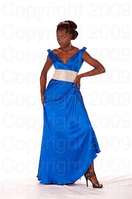 nigeria Miss Universo 2009: Inspirações para vestidos de madrinha e noiva