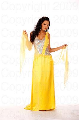 eslovenia2 Miss Universo 2009: Inspirações para vestidos de madrinha e noiva