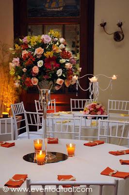 juliana clubenaval b023 blog Baú de ideias: Decoração de casamento laranja
