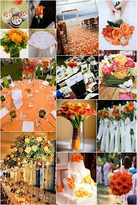 inspiration wc 1 Baú de ideias: Decoração de casamento laranja