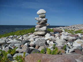 By Gnisv�rds hamn, Gotland