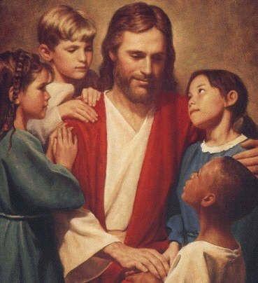 Isus s djecom
