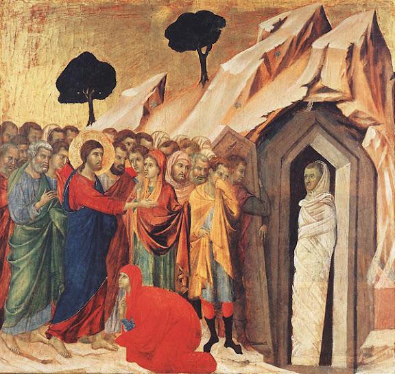 Duccio: Lazar