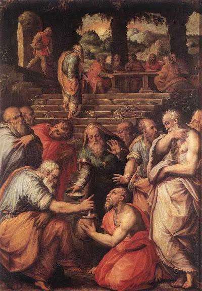 Giorgio Vasari: Prorok Elizej