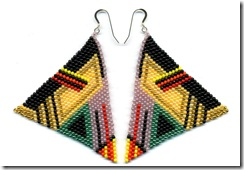 kabiri pyramid earrings