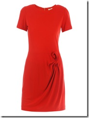 dvf red dress 4