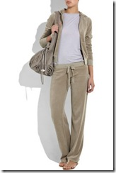 juicy couture taupe tracksuit