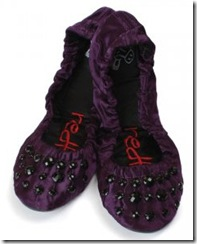 Accessories Direct Folding Beaded Shoes