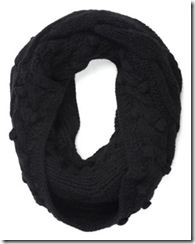 Jigsaw cableknit snood