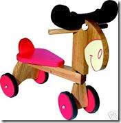 Wooden Moose Trike