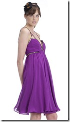 Thurley Purple Dress
