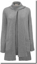 cashmere scarf cardigan