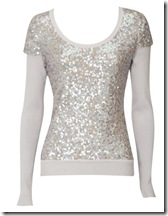 sequin top karen millen