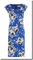 LK Bennett blue dress