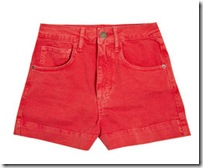 red shorts netaporter