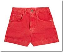 red shorts netaporter