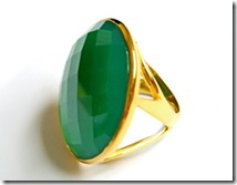 maia green onyx ring