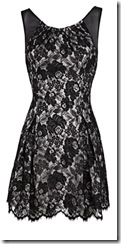 karen millen black lace dress