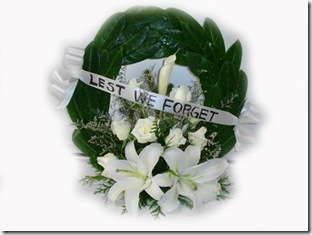Anzac Day Wreath 02.From $55