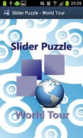 Screenshot of Slider Puzzle - World Tour