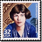 Margaret Mead en una estampilla
