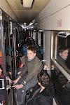 Ve vlaku bylo plno.