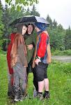 A pršelo a pršelo.... občas i lilo.