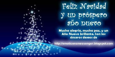 Mucha alegría, mucha paz y un año nuevo brillante. Son los sinceros deseos de http://emoticonsmessenger.blogpot.com