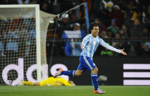 tevez gol a mxico