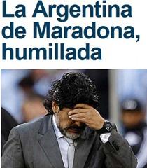 Tapa Marca Maradona