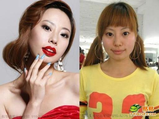 Foto : Kenapa Cewek Butuh waktu lama untuk Dandan, Make up 4