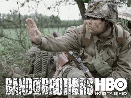 Foto : Photoshop merusak wajah Band of Brothers