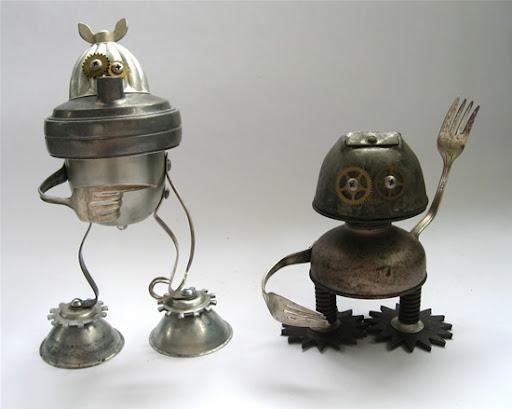 Kita Adopsi Robot Yuk! | Adoptabots robot unik dari barang bekas