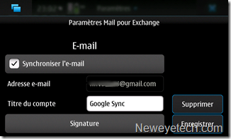 Rentrez votre email Google
