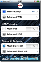 tethering iphone